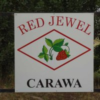 Red Jewel Property Sign